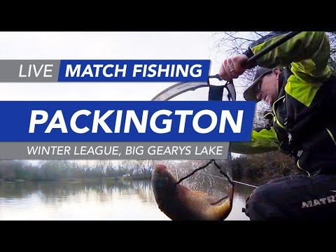 Live Match Fishing: Packington Fishery, Winter League, Big Gearys