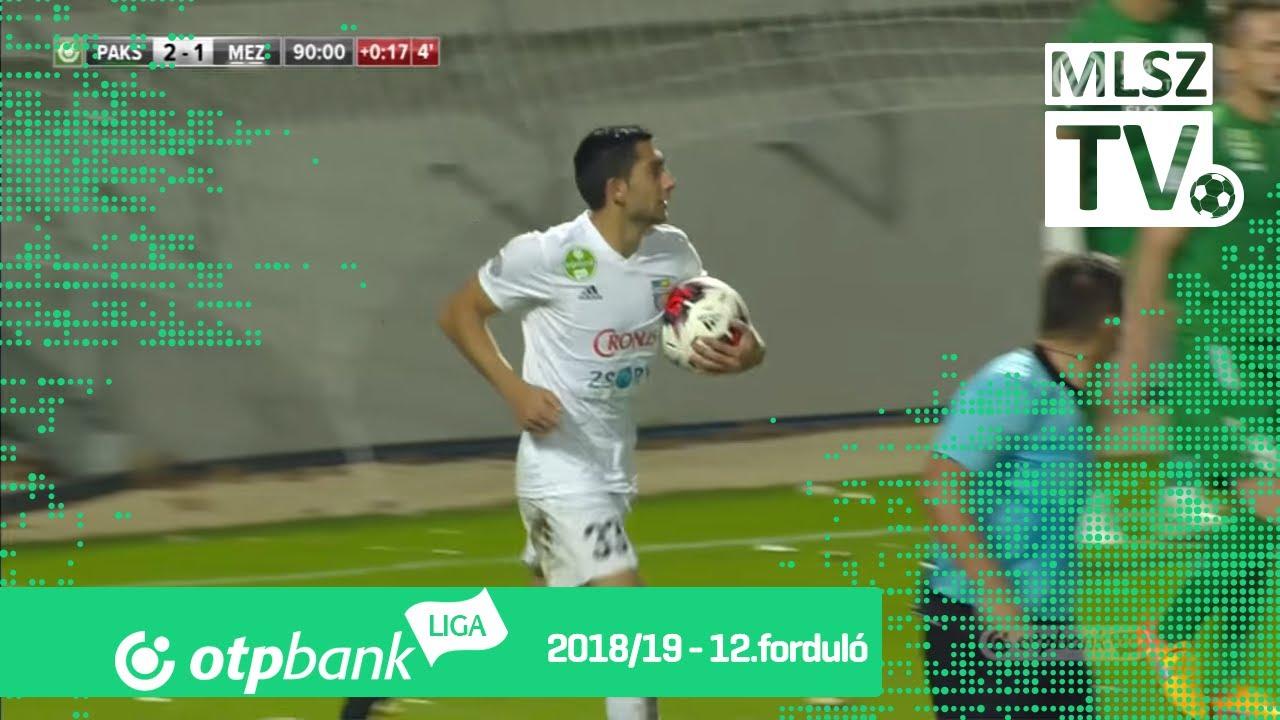 Molnár Gábor gólja a Paksi FC - Mezőkövesd Zsóry FC mérkőzésen