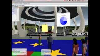 Open Wonderland Role-play Simulation Pilot (long)