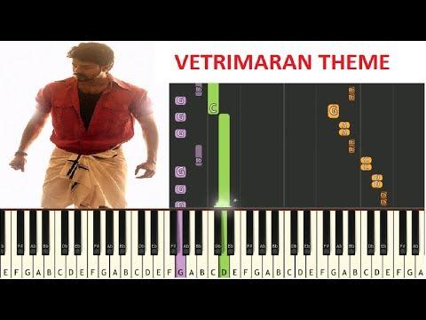 Mersal Vetrimaran Theme \ Thalapathy \ A.R.Rahman \ Atlee \ Mersal  Bgm \ Piano