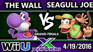 S@X 146 - SU | The Wall (Yoshi) Vs. VexX | Seagull Joe (Diddy, Sonic) SSB4 GF - Smash Wii U - 4