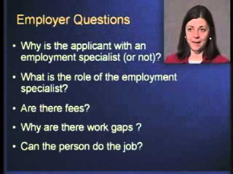 Providing Employment Supports for Individuals with Psychiatric Disabilities  by Deborah Becker