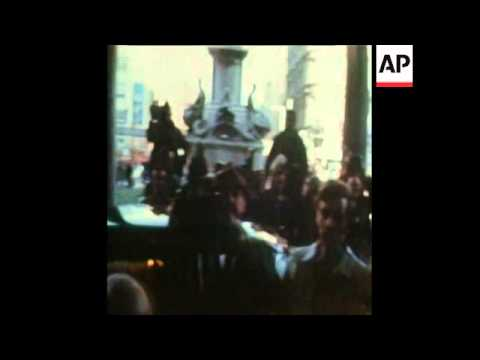 SYND 16/11/72 BRITISH PRIME MINISTER, EDWARD HEATH VISITS BELFAST