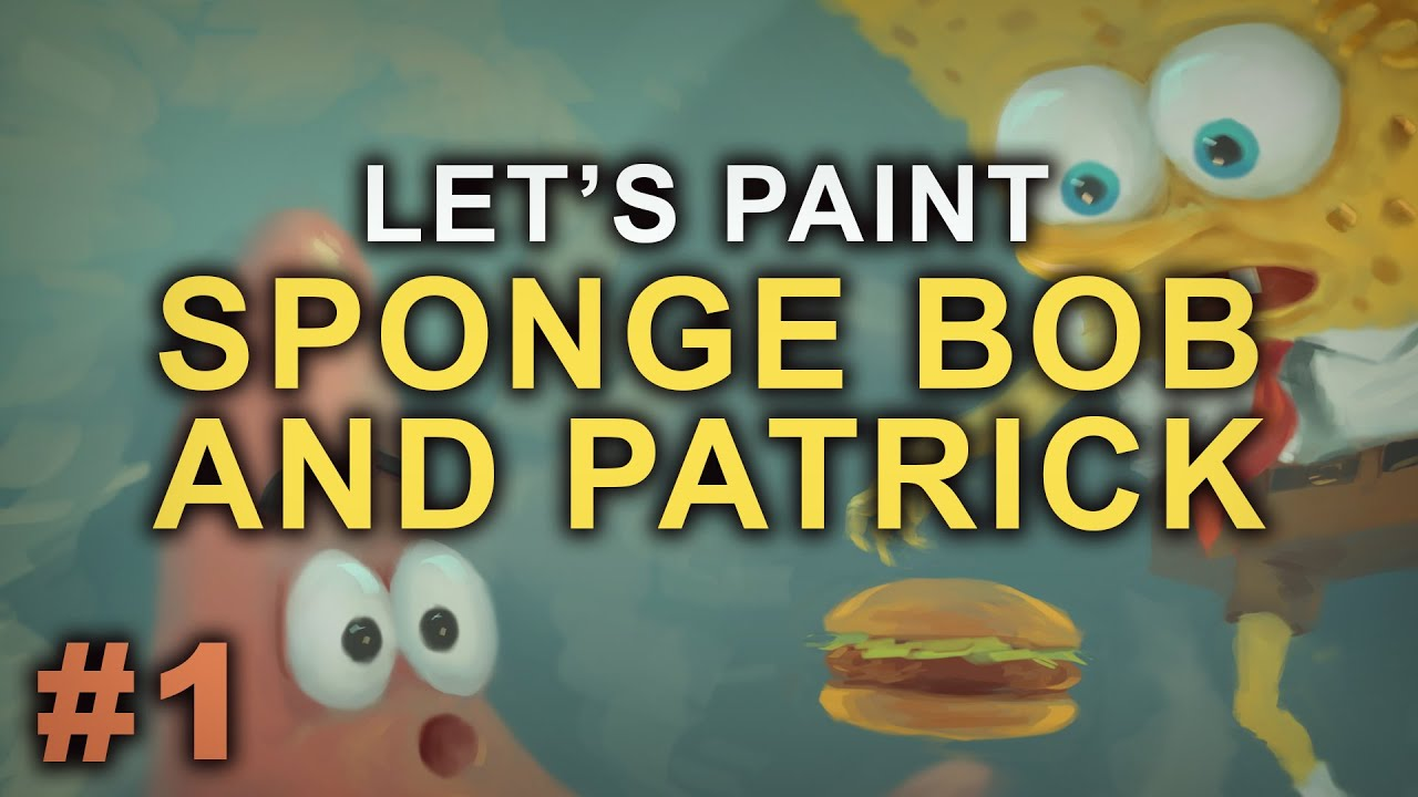 who lives in a pineapple under the sea let u0027s paint spongebob