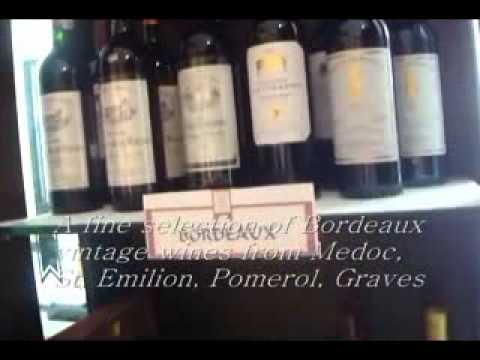Good Wine shop in Global City Metro Manila offers vintage French wines