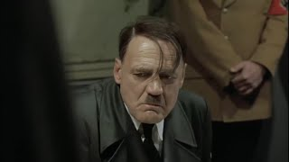 Гитлер узнаёт о смерти Бруно Ганца