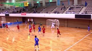 H26年 第23回JOCハンドボール大会東京VS広島(ダイジェスト)(男子予選リーグ)