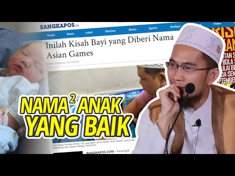 Tips Rahasia!! Cara Memberi Nama Anak yang Benar - Ustadz Adi Hidayat LC MA