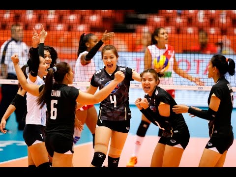 [22-05-2016] Thailand VS Peru : Volleyball Olympic : Women