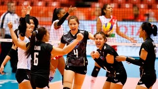 [22-05-2016] Thailand VS Peru : Volleyball Olympic : Women's qualification