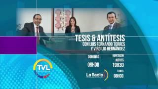 Promo del balance legislativo 2016 en #TesisYAntítesis