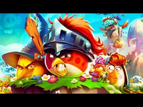 Мультик ИГРА для детей Энгри Бердс Прохождение ИГРЫ Angry Birds Epic 61 Насмешливый каньон Свин тень