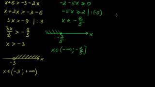 §110 Линейные неравенства