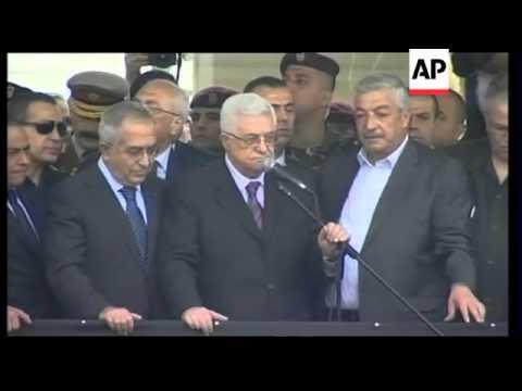Thousands greet Abbas on his return after UN statehood bid