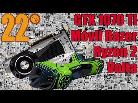 GTX 1070 Ti confirmada, Ryzen 2, CPUs intel con VEGA - Noticias de la semana 22