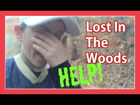 LOST IN THE WOODS, PLEASE SAVE ME!