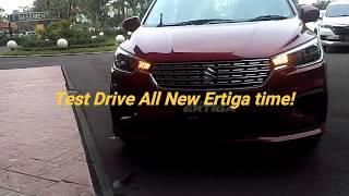 Test Drive Suzuki All New Ertiga 2018 #AllNewErtiga
