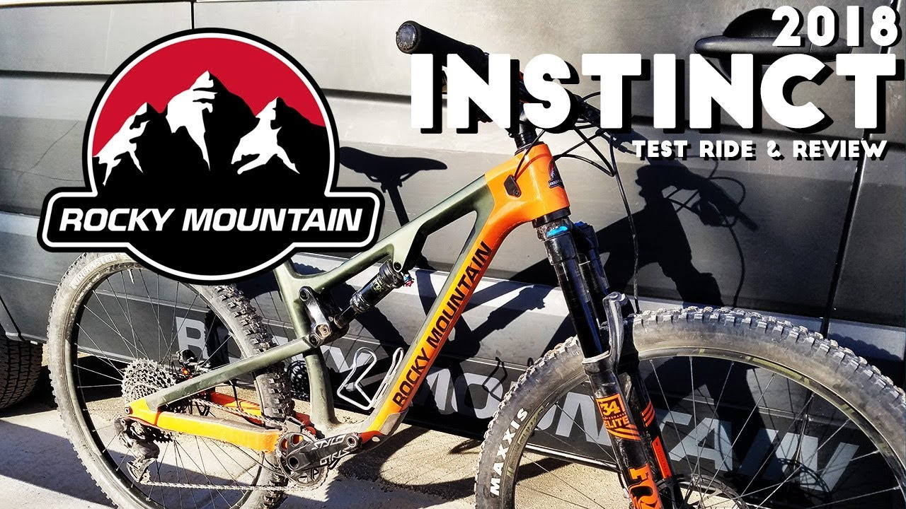 2018 Rocky Mountain Instinct Test Ride & Review