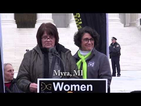 Myra's 2020 March for Life Testimony
