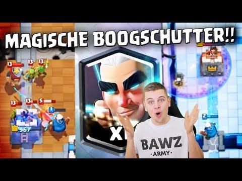 MAGISCHE BOOGSCHUTTER GAME PLAY!! CLASH ROYALE NEDERLANDS