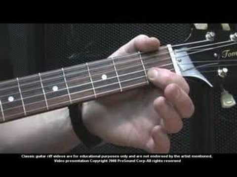 How to Play Ain't Talkin Bout Love by Van Halen