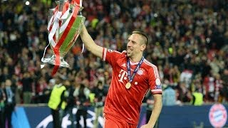 Franck Ribéry  ● The Best Player of Europe ●  13-14 HD