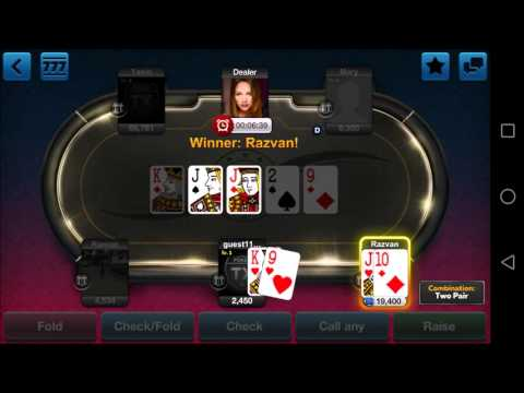 TX Poker - Mobile Game - Gameplay - Poker App - Android - iPhone