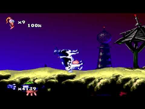Игра для Сега Червяк Джим 2 Earthworm Jim 2 Скачать