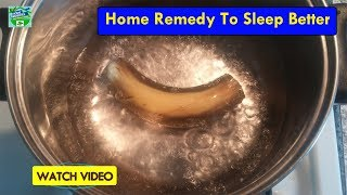 Better than Sleeping Pills: Home Remedy to Sleep Better | Home Remedies