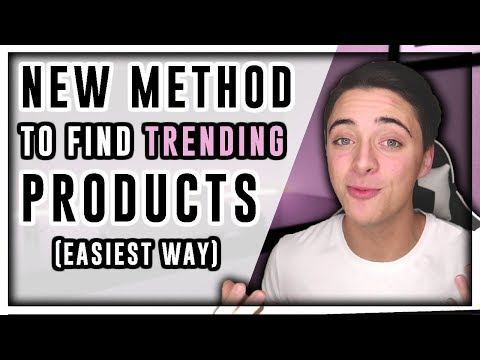 EASIEST WAY To Find Trending Products in 2019 | Shopify Dropshipping thumbnail