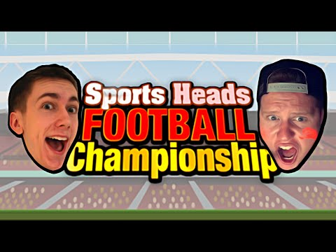 BOBBLE HEAD FOOTBALL?! (Sports Head Football With Simon)