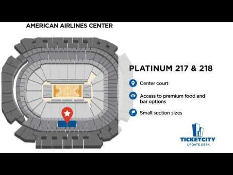 American Airlines Center Seat Recommendations - The TicketCity Update Desk