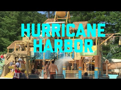 Six Flags Great Escape Hurricane Harbor Lake George NY Water Park
