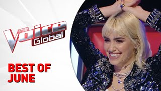 BEST OF JUNE 2021 in The Voice - the voice france 2021 judges