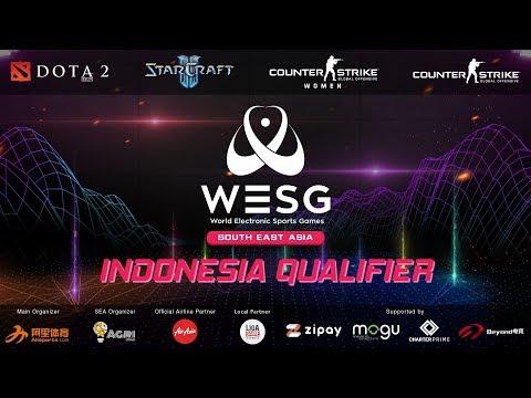 [WESG 2019] DOTA 2 - WOLF vs GODLIKE ESPORTS Indonesia Qualifier