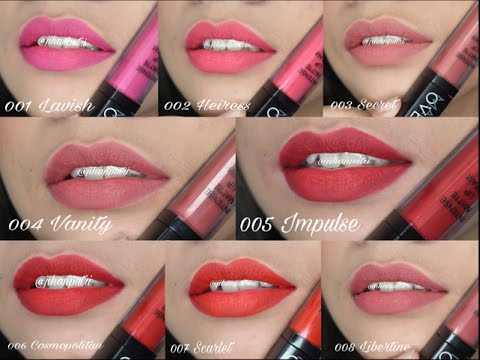 makeover-intense-matte-lipcream-all-shades-review-+-swatch