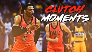 Russell westbrook 2017 - clutch moments ᴴᴰ
