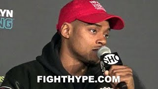 "ERROL SPENCE ADMITS LAMONT PETERSON WILL BE TOUGH FIGHT; EXPLAINS WHY HE WANTED ""DOG FIGHT"""
