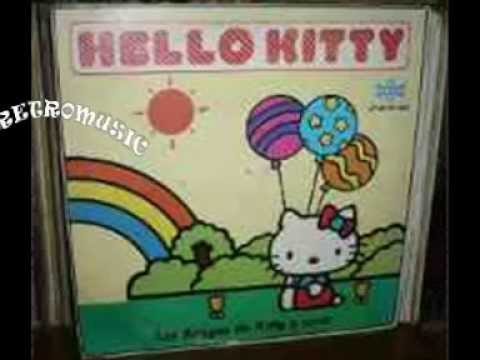 HELLO KITTY  - (  Los amigos de Kitty y coros )  lp completo