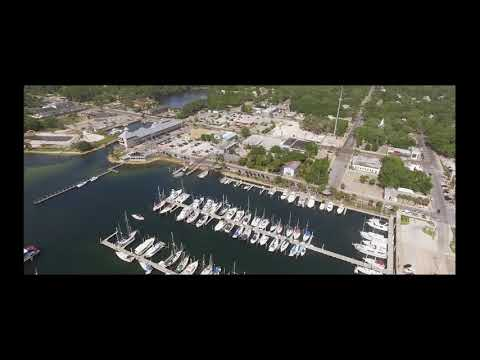 Segment from 'Panama City Waterfront' Featuring Drone Aerial Footage