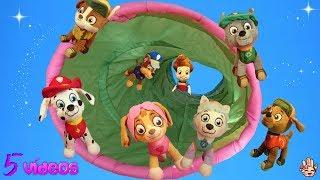 Patrulla Canina / Mejores vídeos de juguetes 2017 - 5 vídeos de Manita Chucherías