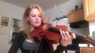 Lesson on Hoffmeister Viola Concerto Mvt 1 (Part 1)