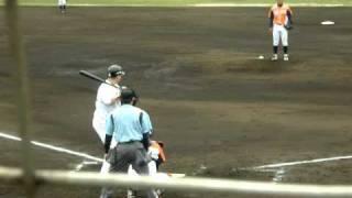 2011.4.16 雁ノ巣ホークス ショート 新外国人育成選手