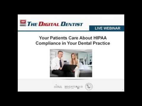 Your Patients Care About HIPAA Compliance in Your Dental Practice
