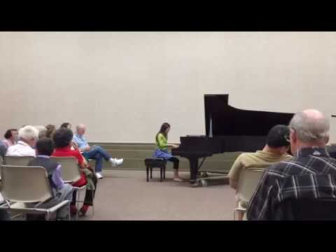 Michelle Qin Santa Barbara Music Club Scholarship Recital