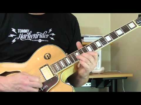 """BB King Guitar Lesson - """"3 O'Clock Blues""""  Song Breakdown April 2015 - Introduction"""