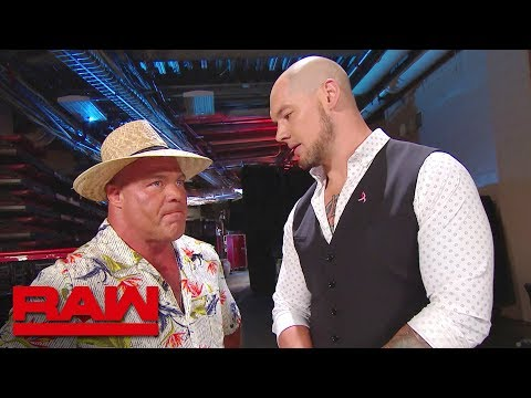 Kurt Angle's vacation comes to an end: Raw, Oct. 15, 2018