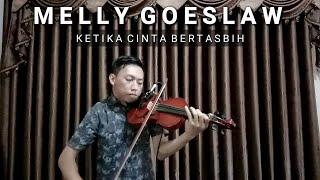 Violin Ketika Cinta Bertasbih - Melly feat amee | Cover by Nopta prahasta