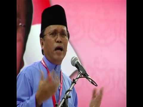 Datuk Seri Shafie Apdal ucapan dasar Bahagian Semporna 2015