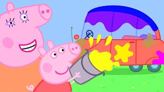 Peppa Pig Official Channel | Car Wash with Peppa Pig
